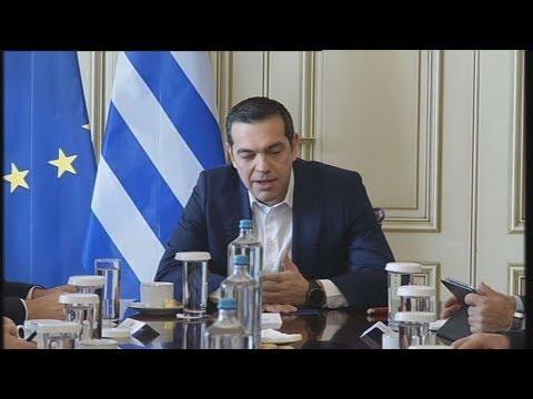 Αλ. Τσίπρας: Το καλό κλίμα στην οικονομία να περάσει στην κοινωνία