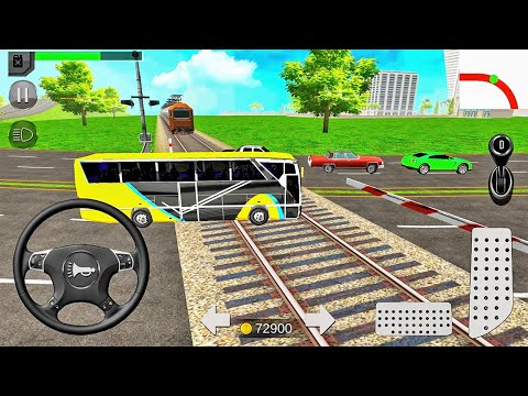 Play this video Euro Coach Bus Simulator 2020 City Bus Driving Games - Android Gameplay
