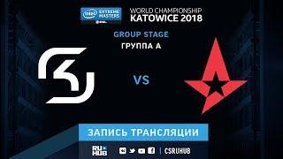 SK vs Astralis - IEM Katowice 2018 - map2 - de_mirage [Enkanis, crystalmay]