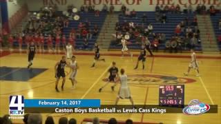 Caston Boys Basketball vs. Lewis Cass