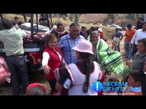 #VIDEO Ayuntamiento de Ocampo entrega cobijas en comunidades del municipio