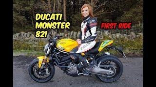 5. 2018 Ducati Monster 821 - First Ride (ft the new Ducati V4)