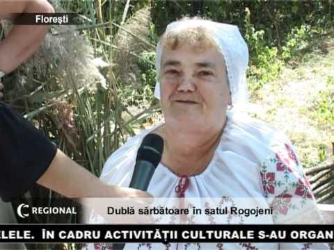 Dublă sărbătoare în satul Rogojeni