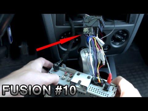 электросхема подключения магнитолы форд фокус 2