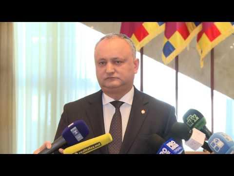 Președintele Igor Dodon a avut o întrevedere cu delegația Comisiei de la Veneția