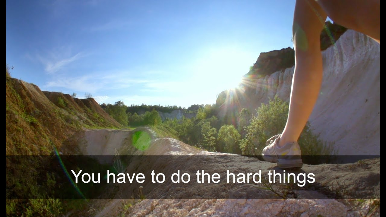 The Hard Things You Need to Start Doing for Yourself (by Marc & Angel)