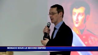 "Conférence ""Monaco sous le Second Empire"" par David Chanterrane"