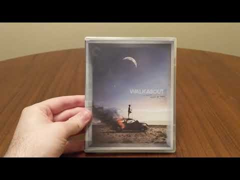 Walkabout (1971) Dir. Nicolas Roeg Criterion Collection Blu-Ray Spine # 10 Unboxing