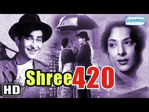 Video Shree 420 - Superhit Comedy Film - Raj Kapoor - Nargis Dutt - Lalita Pawar download in MP3, 3GP, MP4, WEBM, AVI, FLV January 2017