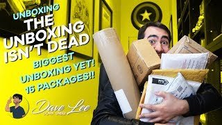 Video The UNBOXING Isn't DEAD!! (16 Package, BIGGEST Unboxing!!) MP3, 3GP, MP4, WEBM, AVI, FLV Juni 2018