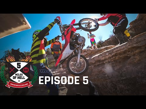 Will We MAKE IT OUT? | 5 Miles of Hell $500 Motorcycle Challenge - Episode 5