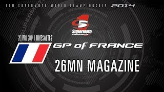 Rivesaltes France  city photo : SMWC 2014 - Round 1: GP of France, Rivesaltes - 26mn MAGAZINE - Supermoto