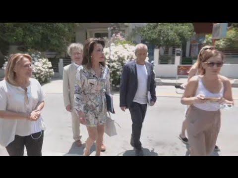 Η Γιάννα Αγγελοπούλου σε Ρέθυμνο, Ηράκλειο και Λασίθι