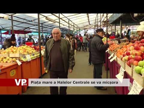 Piața mare a Halelor Centrale se va micșora
