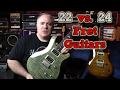 22 Vs 24 Fret Guitars  Mystery Solved  Using Prs Se Custom 22  24