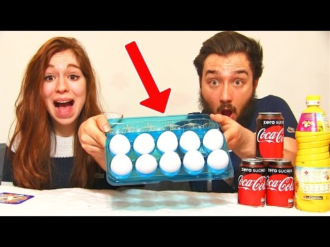 Video OEUF CHALLENGE PRANK en COUPLE !! Coca Cola & Huile ! download in MP3, 3GP, MP4, WEBM, AVI, FLV January 2017