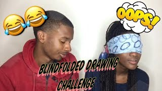 Video LMAOO!!! BLINDFOLDED DRAWING CHALLENGE  (TRY NOT TO LAUGH) MP3, 3GP, MP4, WEBM, AVI, FLV Oktober 2018