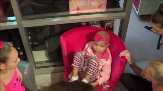 Brielle's Dream Visit to Abby Lee Dance Company (Dance  Moms)- Jamie's Dream Team - Nov 11 2013