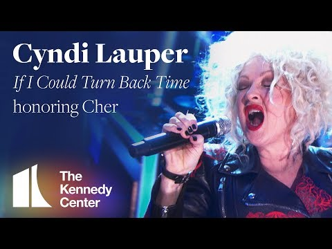 "Cyndi Lauper - ""If I Could Turn Back Time"" (Cher Tribute) 