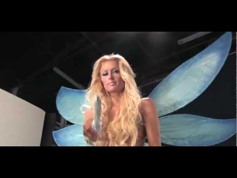 Paris Hilton Fairy Dust Photoshoot
