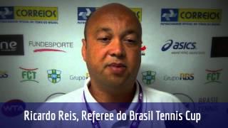 Ricardo Reis conta como é o seu trabalho de árbitro-geral no Brasil Tennis Cup