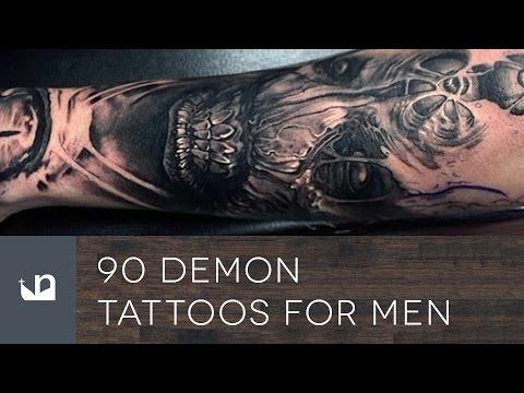 90 Demon Tattoos For Men
