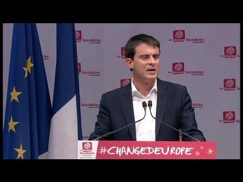 """Européennes: Valls appelle à """"ne pas laisser le terrain à l'extrême droite – 03/05"""
