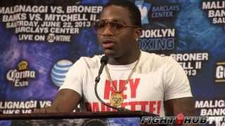 Paulie Malignaggi vs. Adrien Broner: Full Press conference video (HD)