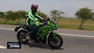 8. รีวิว Kawasaki Ninja650 (ABS)  Test Ride ขี่ทดสอบ คาวาซากิ นินจา 650