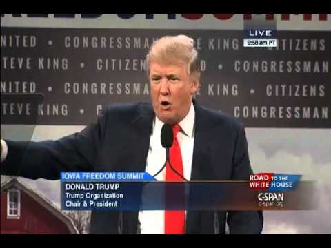 Donald Trump - 1/24/15 - More News and Video at http://freedomslighthouse.net Donald Trump speaks to the