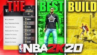 MY NEW BUILD IS DOMINATING NBA 2K20 PARK! BEST BUILD + FASTEST WAY TO REP UP AND GET BADGES