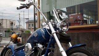 8. Harley Davidson FXCWC Softail Rocker C