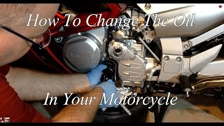 7. How To Change The Oil On A Motorcycle Yamaha FJR 1300 ES