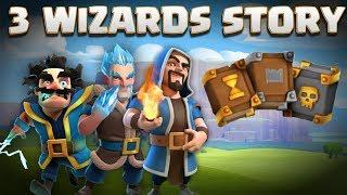 Video 3 Wizards Story - Electro Wiz, Ice Wizard, Regular Wiz & Grand Warden Origin | Clash of Clans Story MP3, 3GP, MP4, WEBM, AVI, FLV September 2018
