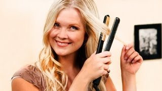 How-to Get Beach Waves with a Flat Iron!