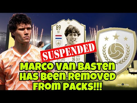 Marco Van Basten Has Been Suspended In FIFA 20 & By Fox Sports For This...