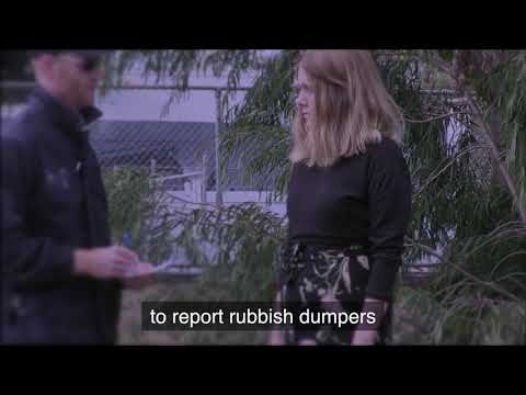 Dumped rubbish video
