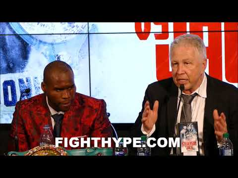 STEVENSON'S PROMOTER EXPLAINS WHY HE WON THE FIGHT; INSISTS REMATCH WITH JACK MUST BE IN CANADA (видео)