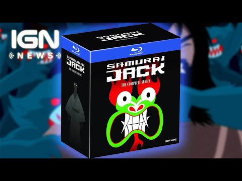 Samurai Jack Complete Series Box Set Announced - IGN News