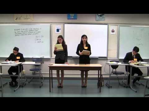 2016 Hawaii State Debate Championships: Public Forum Debate - 2nd Flight (April 8, 2016)