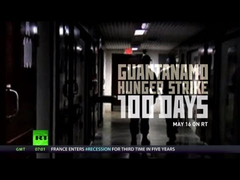 gitmo - It's been exactly one hundred days since detainees at Guantanamo Bay camp started their hunger strike. The official number of inmates refusing food has been ...