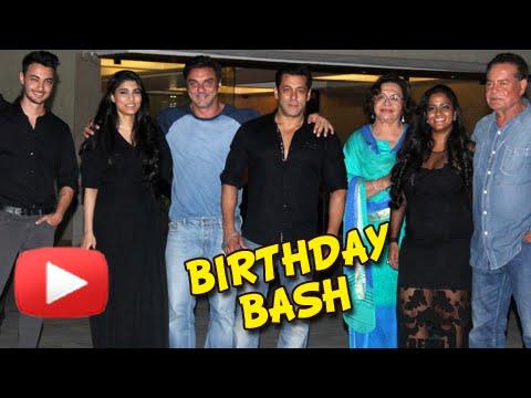 Salman Khan Celebrates Arpita's First Birthday Aft