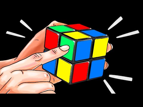 How to Solve a 2x2 Rubik's Cube in a Minute | The Quickest Tutorial