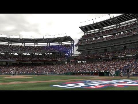 OPENING DAY 2017: NATIONALS PARK, WASHINGTON NATIONALS VS MIAMI MARLINS (MLB The Show 17)