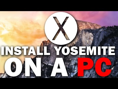 OSX - Here is How to Install Mac OSX 10.10 Yosemite On A PC. Hackintosh build guides: http://bit.ly/1qY8KBG Links and Written instructions: http://bit.ly/1yQJc1j F...
