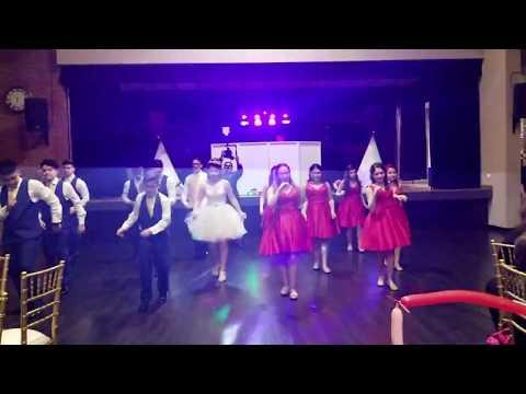 Daniela's Quinceañera Echame la Culpa Surprise Dance