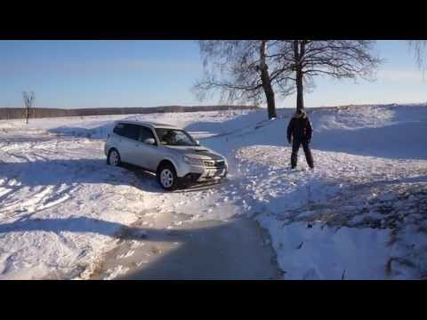 Subaru Forester S-edition off road (видео)