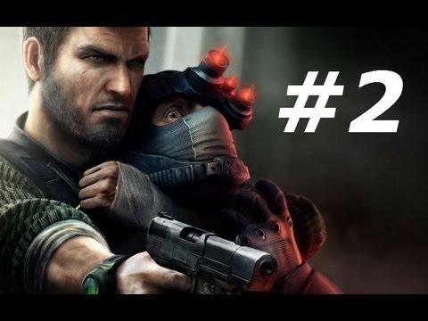 Splinter Cell Conviction Gameplay Walkthrough Part 2-Andriy Kobin (видео)