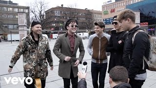 "Join Vevo UK LIFT band Rixton on tour as they travel to Sweden in this latest Video Diary. See the ""Wait on Me"" boys having fun on the road now...Get the Vevo App! http://smarturl.it/vevoappsThe new single 'Wait On Me' out November 9th in the UK. Preorder here http://rix.tn/RwomYd Follow Rixton on http://RixtonBand.com  http://youtube.com/Rixton  http://twitter.com/RixtonOfficialhttp://facebook.com/RixtonOfficialhttp://instagram.com/RixtonOfficial  VEVO UK Channel: http://www.youtube.com/user/VEVOUKSubscribe: http://www.youtube.com/subscription_center?add_user=VEVOUKFind us on Facebook: http://www.facebook.com/VEVOFollow us on Twitter: https://twitter.com/vevo_ukWatch more Rixton content here: http://www.vevo.com/lift"