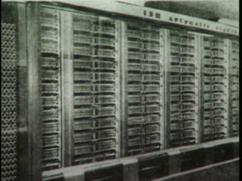 Computing - [Recorded: 1996] Part 1 of 2 The Dawn of Electronic Computing 1935 1945 Computer pioneer Gordon Bell hosts this two-part program on the evolution of electron...